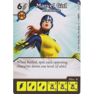 Marvel Girl - Telekinetic (Die  & Card Combo)