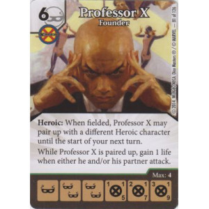 Professor X - Founder (Die  & Card Combo)