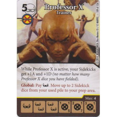 Professor X - Trainer (Die  & Card Combo)