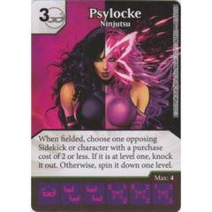 Psylocke - Ninjutsu (Die  & Card Combo)