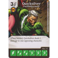 Quicksilver - Pietro Maximoff (Die  & Card Combo)