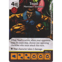 Toad - Mortimer Toynbee (Die  & Card Combo)