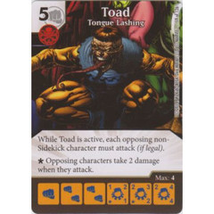 Toad - Tongue Lashing (Die  & Card Combo)