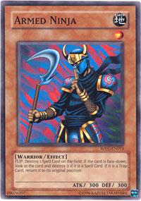 Armed Ninja - RP01-EN013 - Common - Unlimited Edition