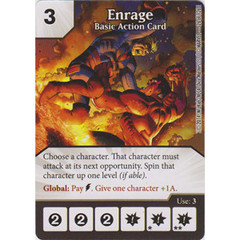 Enrage - Basic Action Card (Card Only)