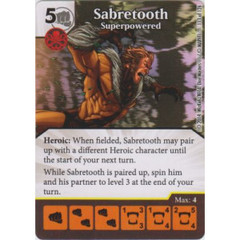 Sabretooth - Superpowered (Card Only)