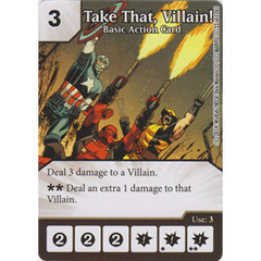 Take That, Villain! - Basic Action Card (Card Only)