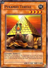 Pyramid Turtle - SD2-EN005 - Common - 1st Edition