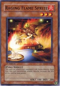 Raging Flame Sprite - SD3-EN010 - Common - 1st Edition