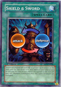 Shield & Sword - SD7-EN020 - Common - 1st Edition