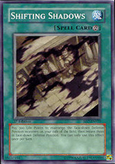 Shifting Shadows - SD7-EN025 - Common - 1st Edition