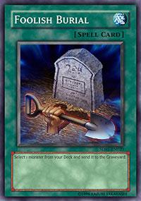 Foolish Burial - SDRL-EN020 - Common - 1st Edition