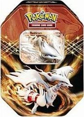 Pokemon 2012 Black/White EX Collectors Tin Reshiram