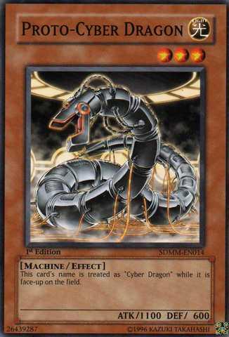 Proto-Cyber Dragon - SDMM-EN014 - Common - 1st Edition