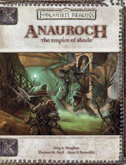 D&D 3.5 - Anauroch The Empire of Shade HC