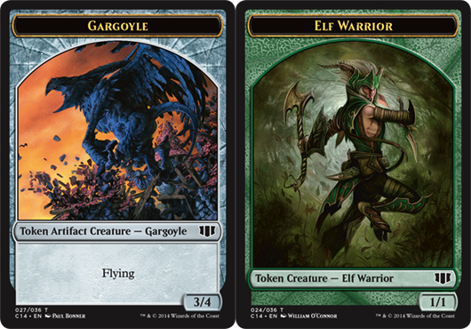 Gargoyle Token // Elf Warrior Token