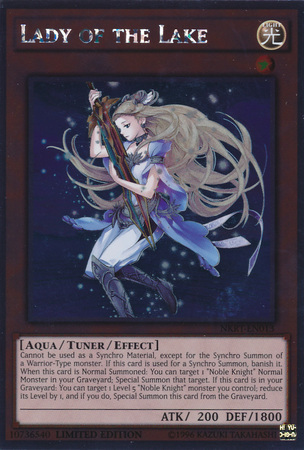 Lady of the Lake - NKRT-EN013 - Platinum Rare - Limited Edition