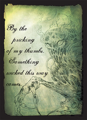 Something Wicked 50ct Sleeves