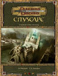 D&D 3.5 - Cityscape HC