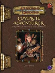 3.5 Edition - Complete Adventurer (Very Good)