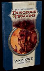 4e Player's Handbook Warlord Power Cards