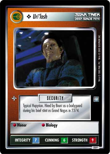 Star Trek CCG All Good Things Dimensional Shifting 10P