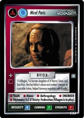 Miral Paris [Klingon]