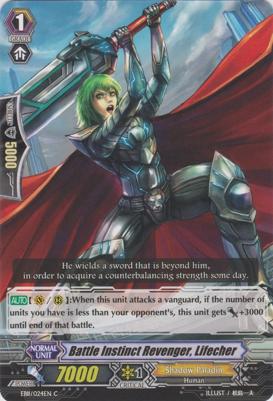 Battle Instinct Revenger, Lifecher - EB11/024EN - C