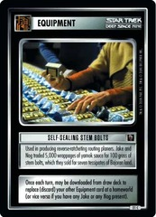 Self-Sealing Stem Bolts