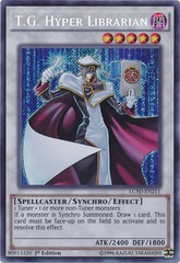T.G. Hyper Librarian - LC5D-EN211 - Secret Rare - Unlimited Edition