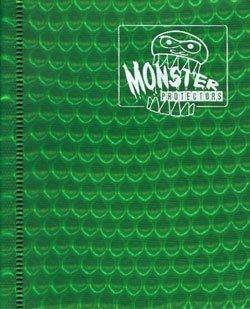 Monster Protectors 2-Pocket Binder - Holo Green