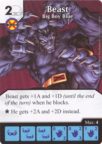 Beast - Big Boy Blue (Die & Card Combo)