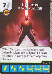 Cyclops - If Looks Could Kill (Die & Card Combo)