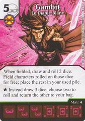 Gambit - Le Diable Blanc (Die & Card Combo)