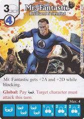 Mr. Fantastic - Brilliant Scientist (Die & Card Combo)