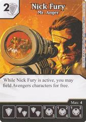 Nick Fury - Mr. Anger (Die & Card Combo)