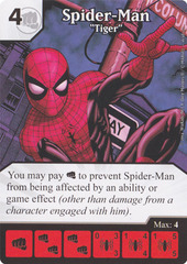 Spider-Man - Tiger (Die & Card Combo)