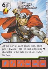 Thor - God of Thunder (Die & Card Combo)