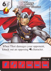 Thor - Legendary Warrior (Die & Card Combo)