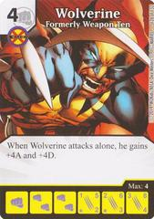 Wolverine - Formerly Weapon Ten (Die & Card Combo)