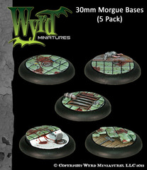 30 mm Morgue Base (5 pack)