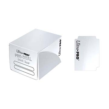 PRO Dual Small White Deck Box