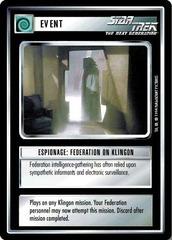 Espionage: Federation on Klingon