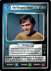 Chief Navigator Chekov