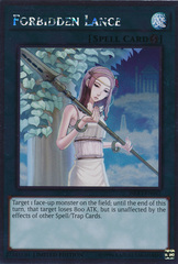 Forbidden Lance - NKRT-EN042 - Platinum Rare - Limited Edition on Channel Fireball