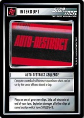 Auto-Destruct Sequence