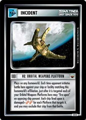 HQ: Orbital Weapons Platform