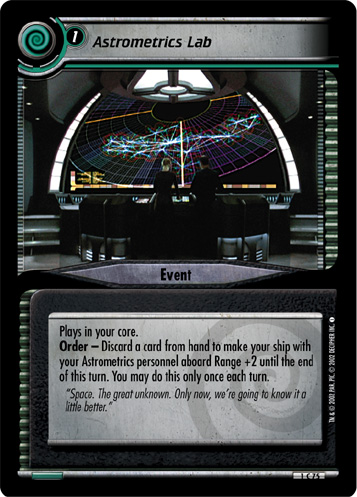 Ungraded Now Would Be A Good Time The Motion Picture STCCG Decipher Star Trek