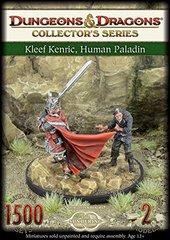Kleef Kenric, Human Paladin Miniature
