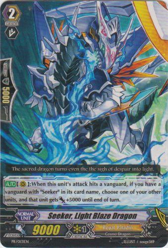 Seeker, Light Blaze Dragon - PR/0131EN - PR